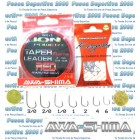 Taper Leader Red Fluorine AWA-SHIMA